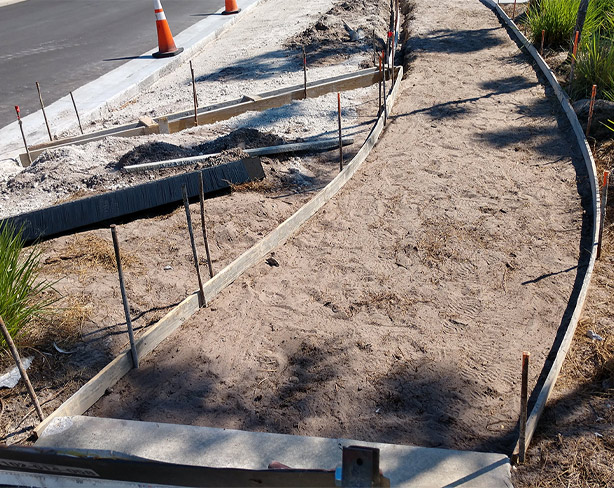 Concrete Sidewalk Construction | Concrete Flatwork in Southwest Florida - Solid Pave, LLC.